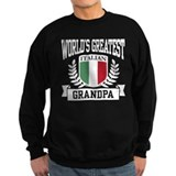 World's Greatest Italian Grandpa Jumper Sweater