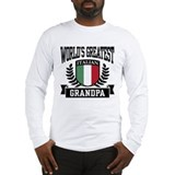 World's Greatest Italian Grandpa Long Sleeve T-Shi