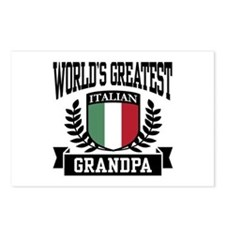 World's Greatest Italian Grandpa Postcards (Packag
