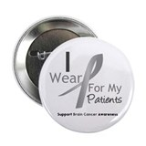 "Gray Ribbon Patients 2.25"" Button (10 pack)"
