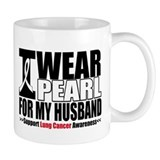 Lung Cancer Husband Small Mug