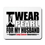 Lung Cancer Husband Mousepad