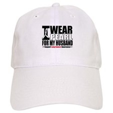Lung Cancer Husband Baseball Cap