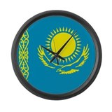 Kazakhstan Large Wall Clock