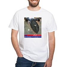 SR-71 Blackbird 2000 MPH T-Shirt (white)