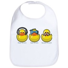 No Evil Ducks Bib