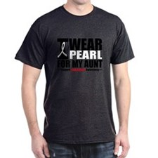 Lung Cancer Ribbon Aunt T-Shirt