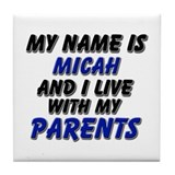 my name is micah and I live with my parents Tile C