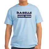 Isabelle Loves Mom T-Shirt