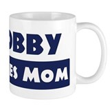 Bobby Loves Mom Small Mug