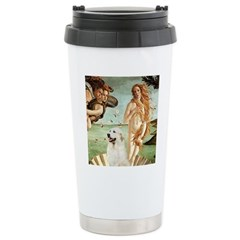 Venus / Great Pyrenees Ceramic Travel Mug