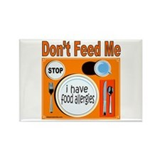 DON'T FEED ME Rectangle Magnet (10 pack)