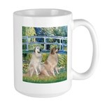 Bridge / Great Pyrenees (2) Large Mug