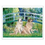 Bridge / Great Pyrenees (2) Small Poster