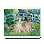 Bridge / Great Pyrenees (2) Mousepad