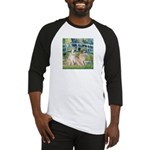 Bridge / Great Pyrenees (2) Baseball Jersey