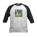 Bridge / Great Pyrenees (2) Kids Baseball Jersey
