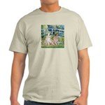 Bridge / Great Pyrenees (2) Light T-Shirt