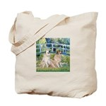 Bridge / Great Pyrenees (2) Tote Bag