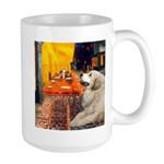 Cafe / Great Pyrenees Large Mug