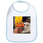 Cafe / Great Pyrenees Bib