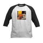 Cafe / Great Pyrenees Kids Baseball Jersey
