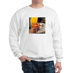 Cafe / Great Pyrenees Sweatshirt