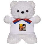 Cafe / Great Pyrenees Teddy Bear