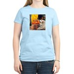 Cafe / Great Pyrenees Women's Light T-Shirt