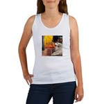 Cafe / Great Pyrenees Women's Tank Top