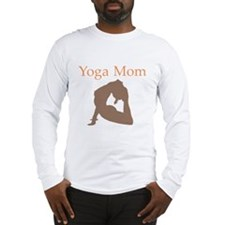 Yoga Mom Long Sleeve T-Shirt