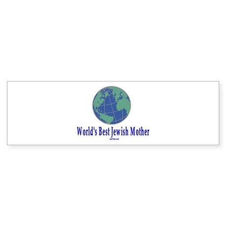 World's Best Jewish Mother Bumper Sticker