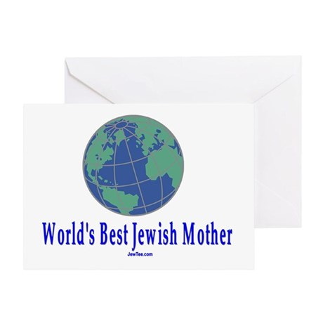 World's Best Jewish Mother Greeting Card