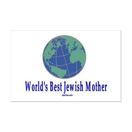 World's Best Jewish Mother Mini Poster Print