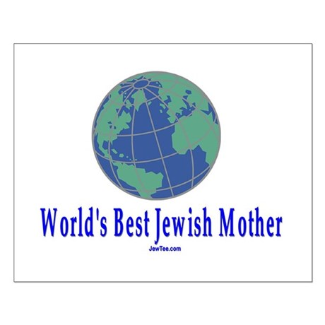 World's Best Jewish Mother Small Poster