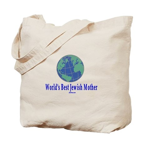 World's Best Jewish Mother Tote Bag