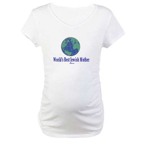 World's Best Jewish Mother Maternity T-Shirt