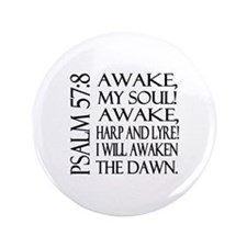 "Psalm 57:8 3.5"" Button (100 pack)"