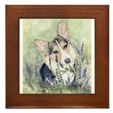 Welsh Corgi Framed Tile