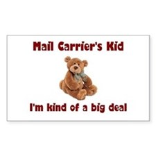 Mail Carrier Rectangle Sticker 10 pk)