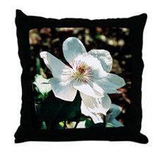 Clematis - Throw Pillow