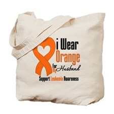 Leukemia Husband Tote Bag