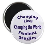 2.25&amp;quot; Feminist Studies Magnet (10 pack)