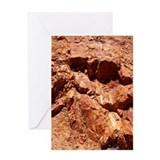 Red Rocks Geology Greeting Card