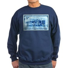 Unique Model railroad Sweatshirt