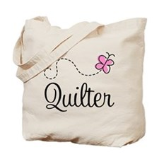 Pretty Quilter Tote Bag