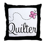 Pretty Quilter Throw Pillow