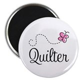 Pretty Quilter Magnet