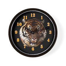 Go Wild Tiger Wall Clock