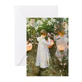 Sargent Carnation Lily Rose Greeting Cards (Pk of